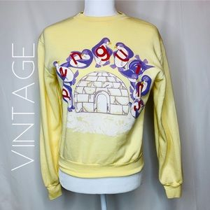 Vintage Congstreet penguin graphic sweatshirt L